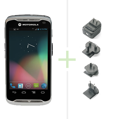 ZEBRA PDT TC55 1D-LI WLAN 3G NFC AD4.1 EXT PSU