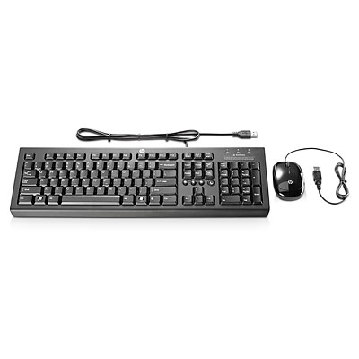 HP KEYBOARD AND MOUSE BUNDLE USB H2S75AA