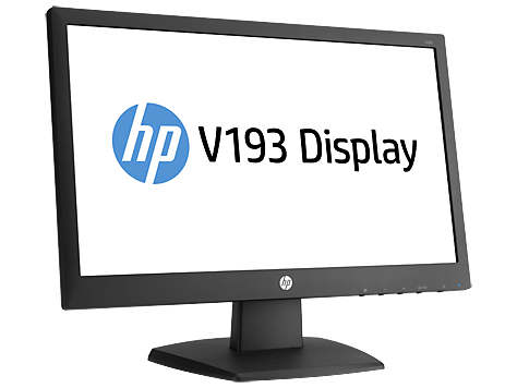 HP MONITOR LED 18.5 INCH V193 BLK