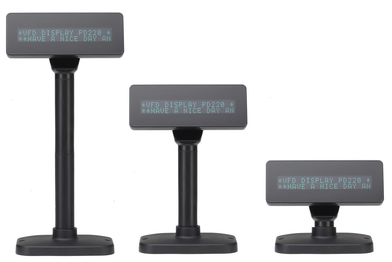 VPOS CUSTOMER DISPLAY 5V 2X20 LINES USB BLK