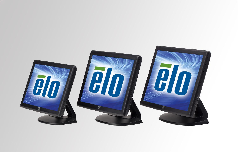 ELO D/TOP 1517L LED RESIST VGA SER/USB WHT